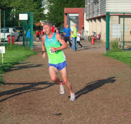 Stuart Hawkes overall Male series winner