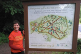 Sarah took on the Forest of Dean ParkRun