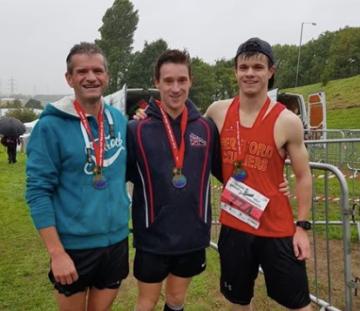 Paul, Jon Barnes (Cheltenham) & Ryan